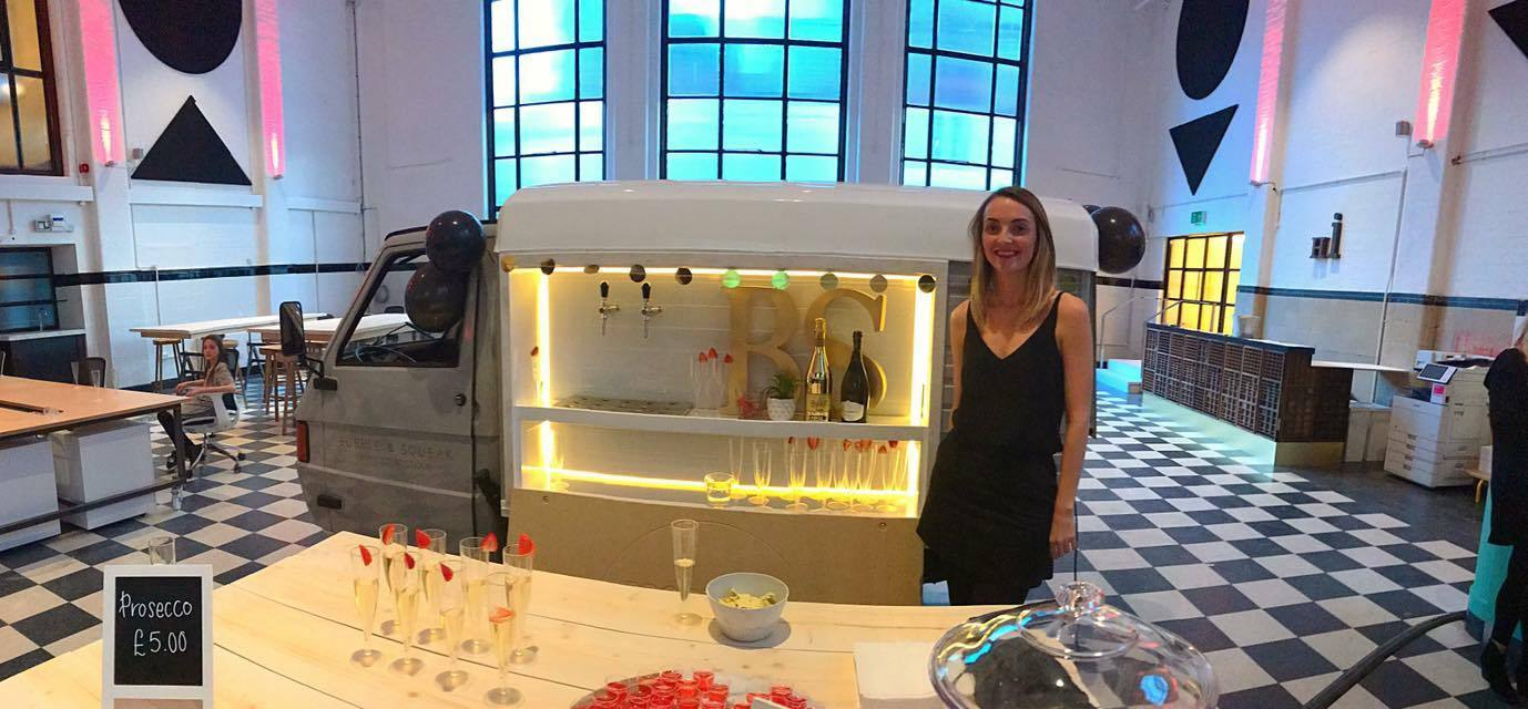 Pippa Yeates has set up Bubble & Squeak, a prosecco 'boutique'