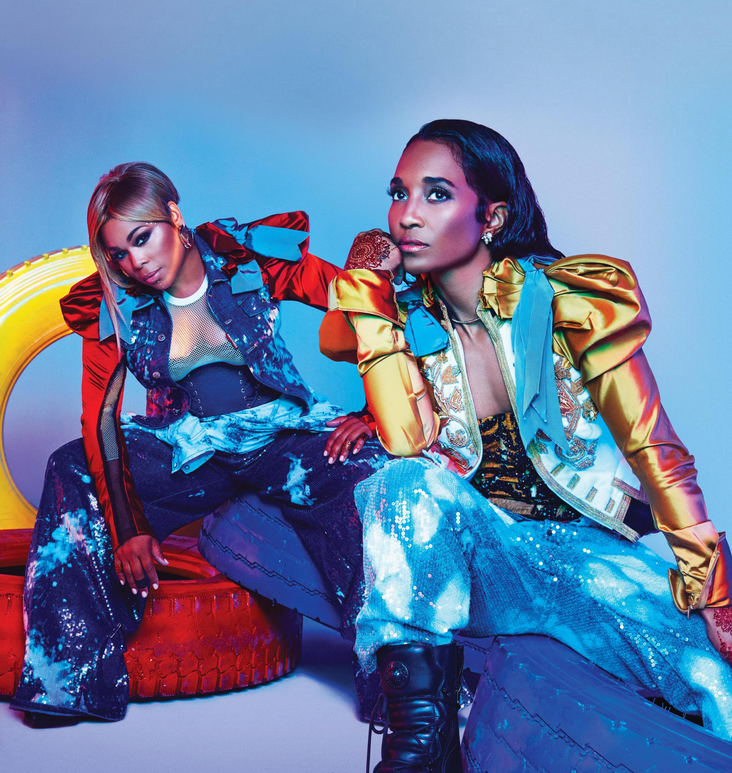 Girl group TLC who have cancelled their show at the BIC on November 5