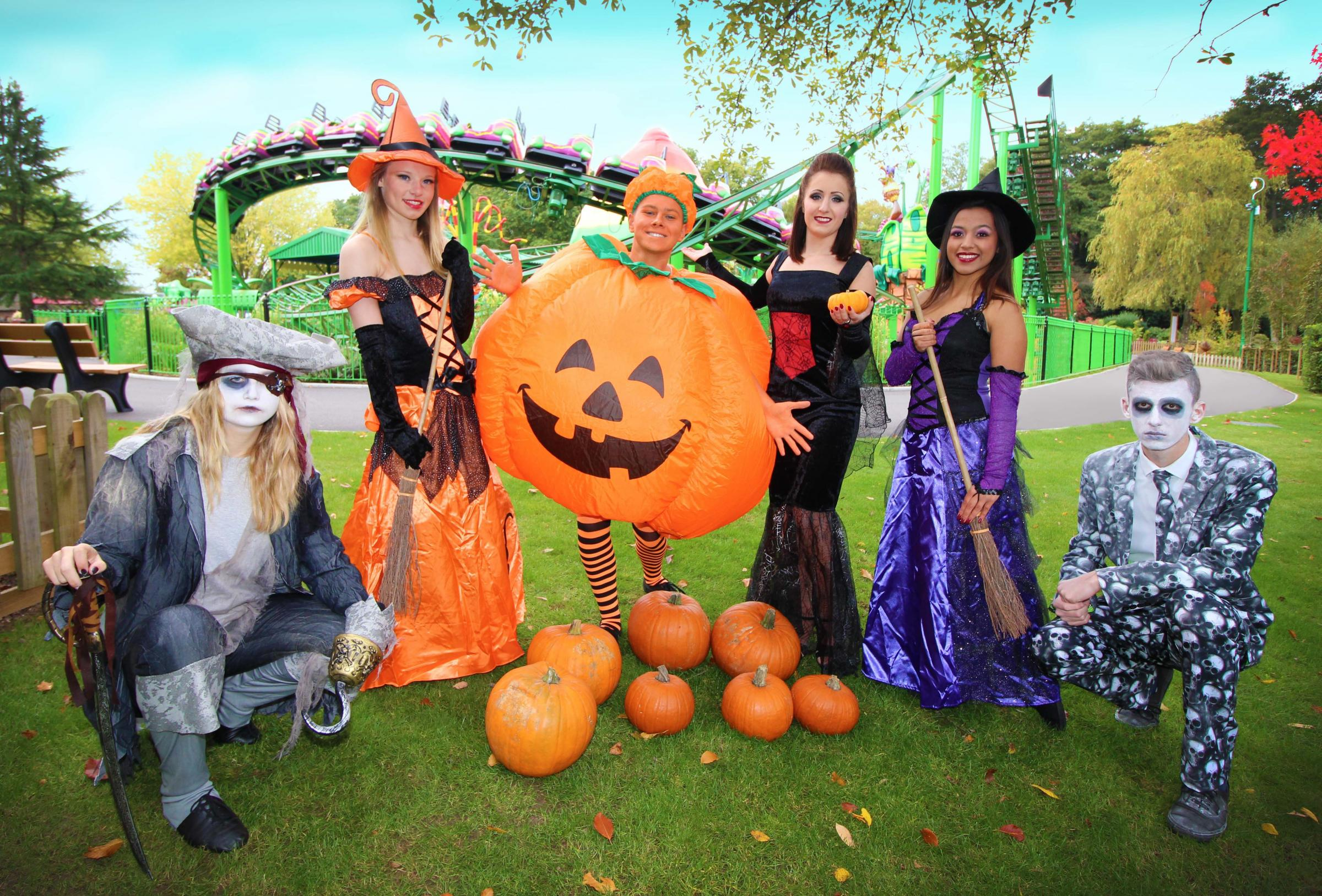 Happy Halloween comes to Paultons Park for 2018