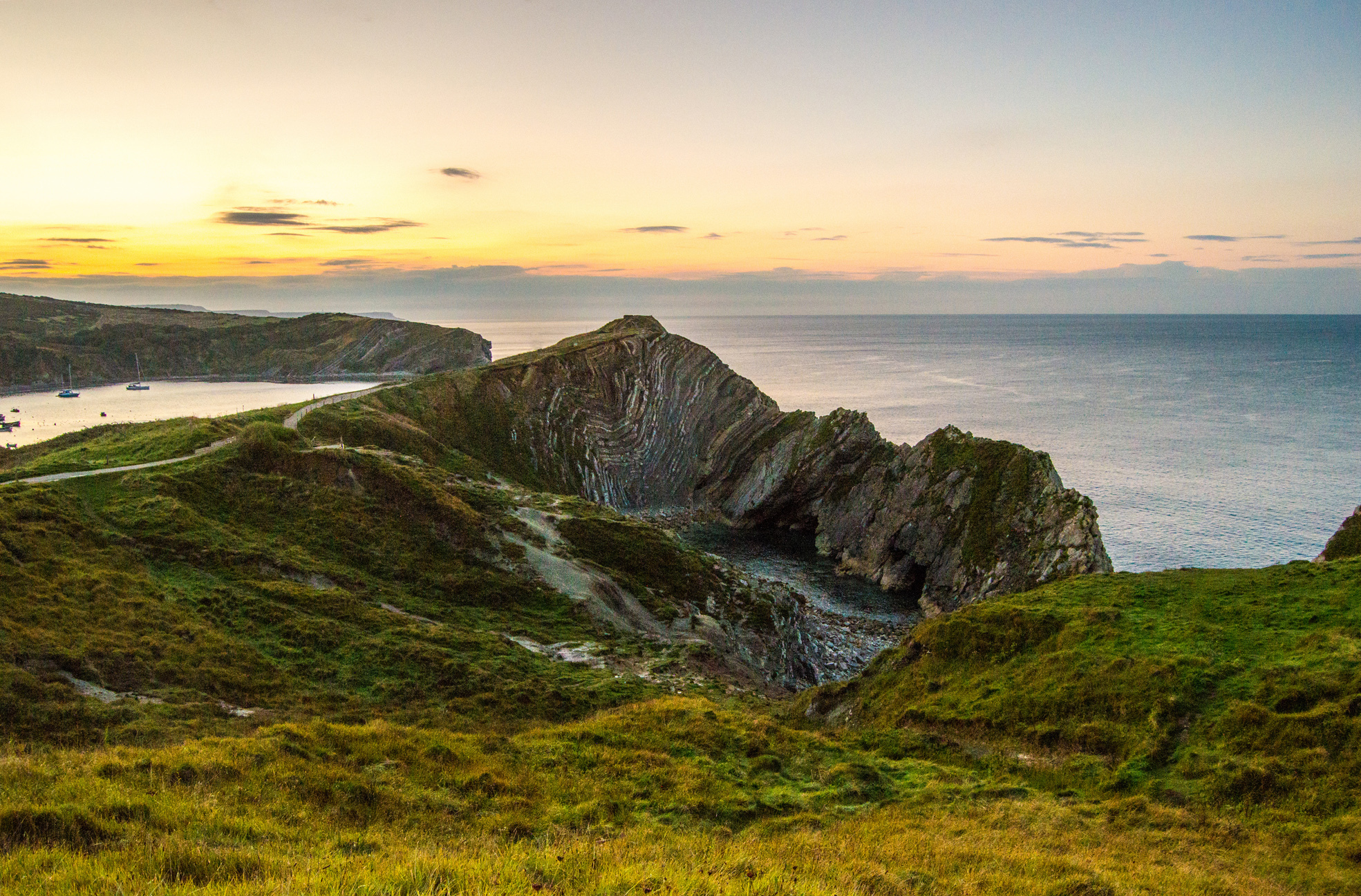 Picture of the Day: Sunrise at Stair Hole
