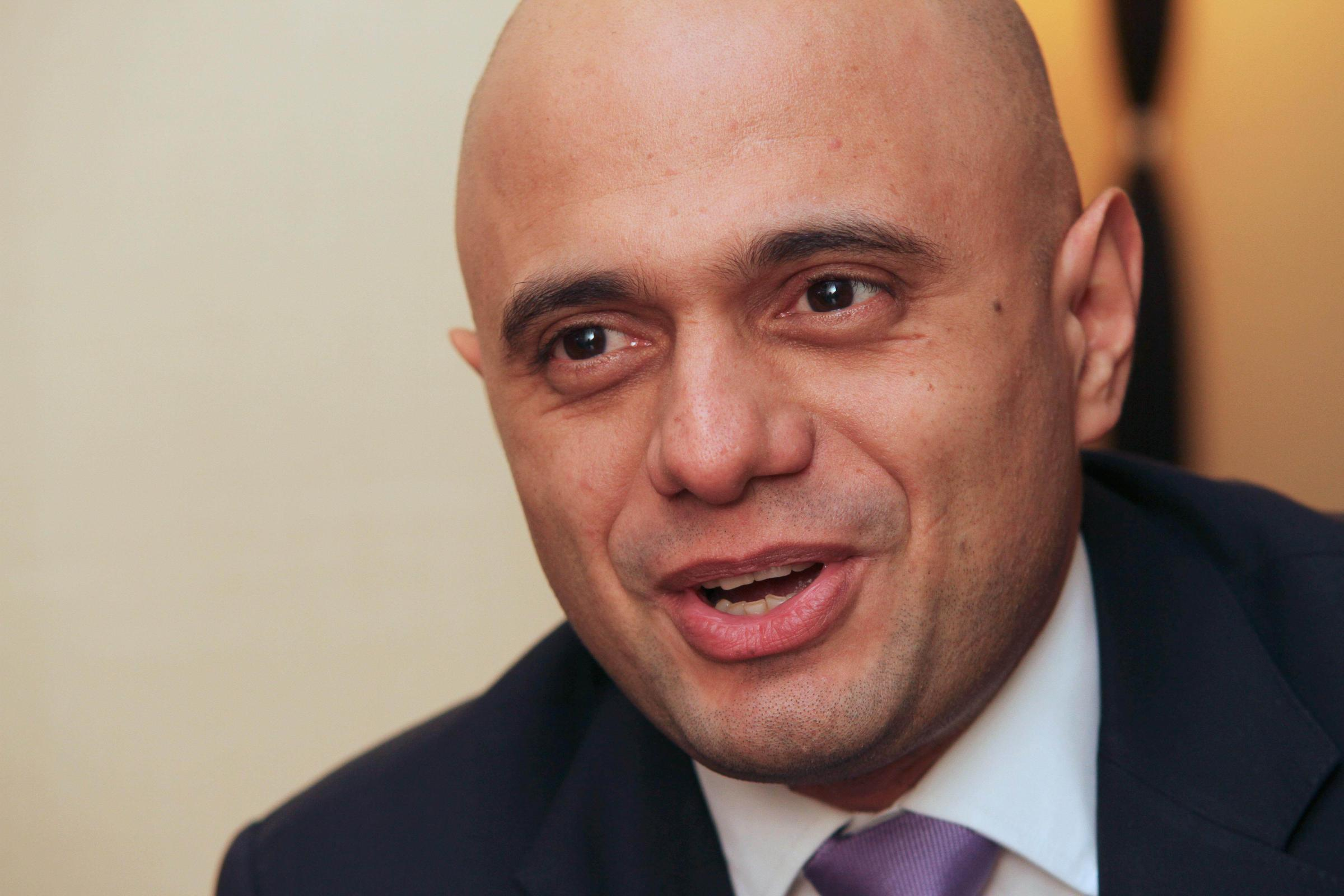 Secretary of State for Communities and Local Government Sajid Javid