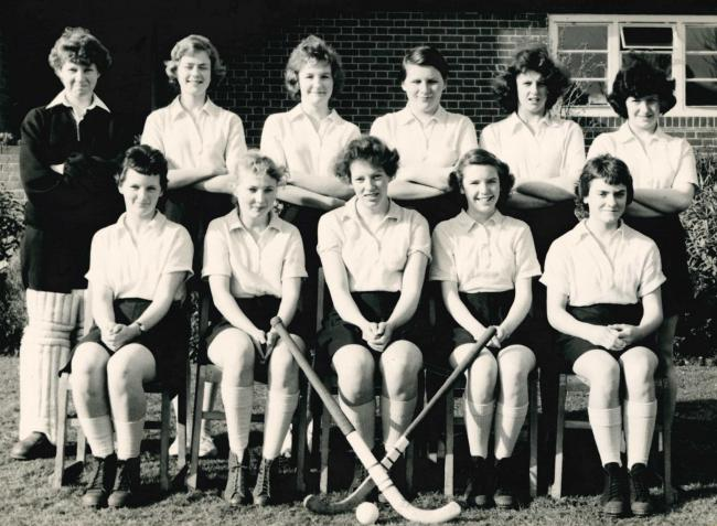 picture of the day stourfield school hockey team 1957 58
