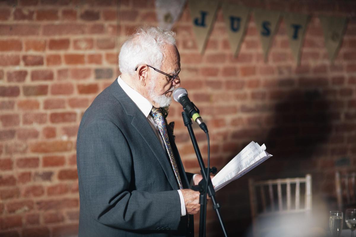 Stroke Survivor Who Was Left Unable To Speak Makes Speech At Daughters Wedding