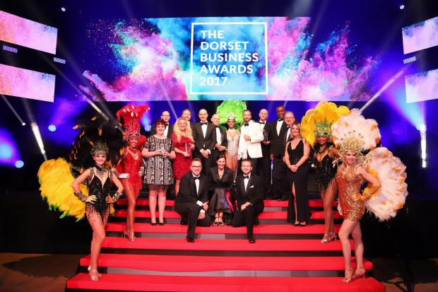 The winners of the Dorset Business Awards 2017