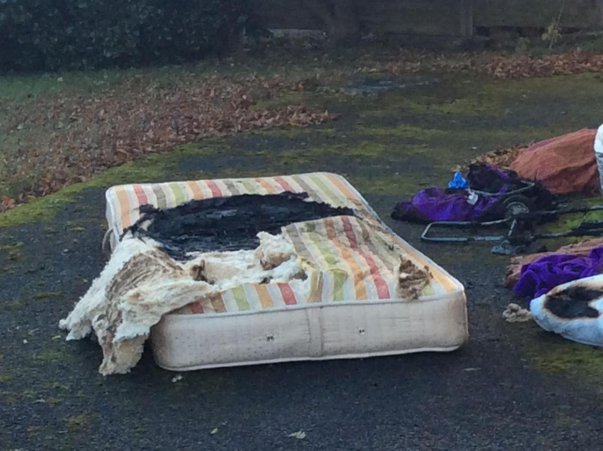 Couple Led To Safety After House Fire Started By Electric Blanket