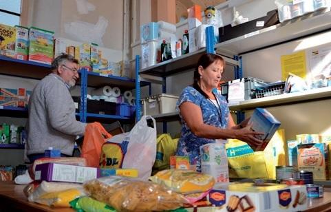 CONCERNED: Christchurch Food Bank at St Joseph's Church in Purewell