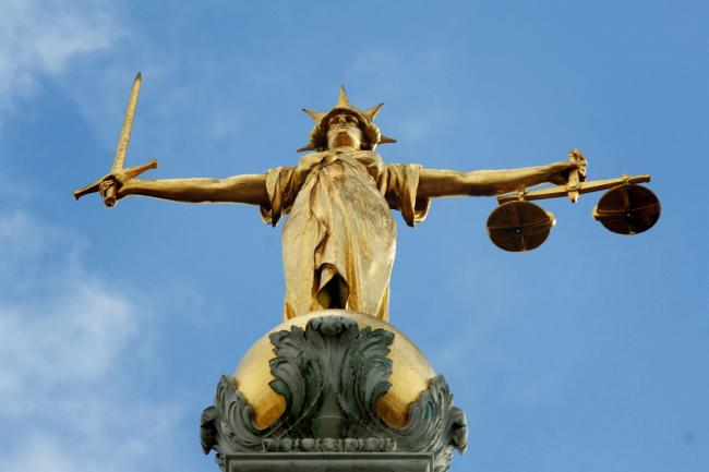 File photo dated 6/3/07 of Lady Justice, holding scales and a sword, on top of the Central Criminal Court, also referred to as Old Bailey, in central London. European judges would struggle to be neutral in disputes after Brexit and must not be given the f