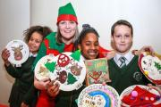 Pupils, parents and staff enjoyed the inaugral Christmas Fayre at Parkfield School.