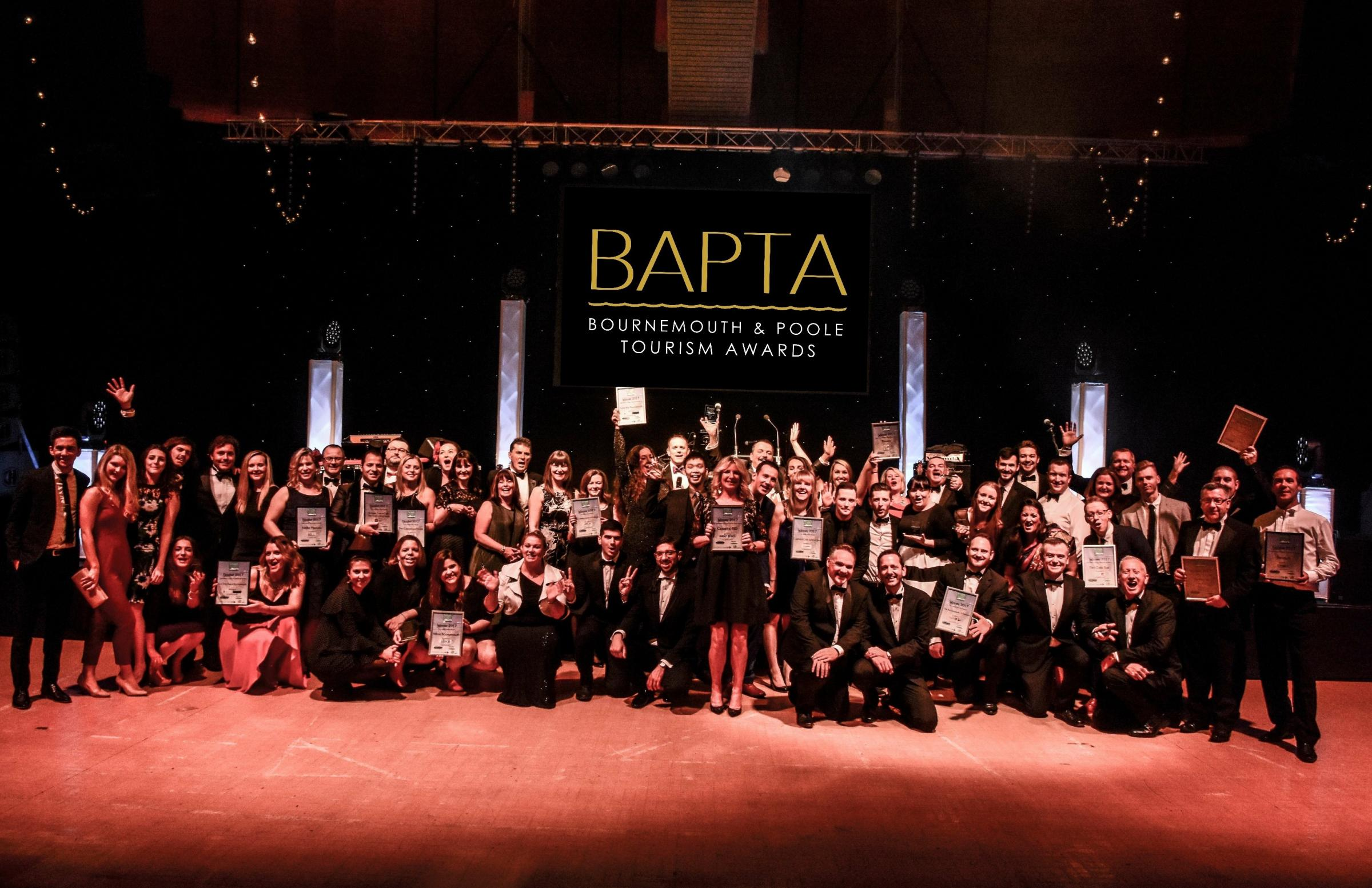 The 2018 Bournemouth and Poole Tourism Awards (BAPTAs)