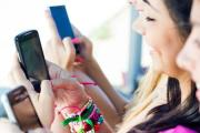 A Generic Photo of teen girls looking at their mobile phones. See PA Feature. Picture credit should read: PA Photo/thinkstockphotos.