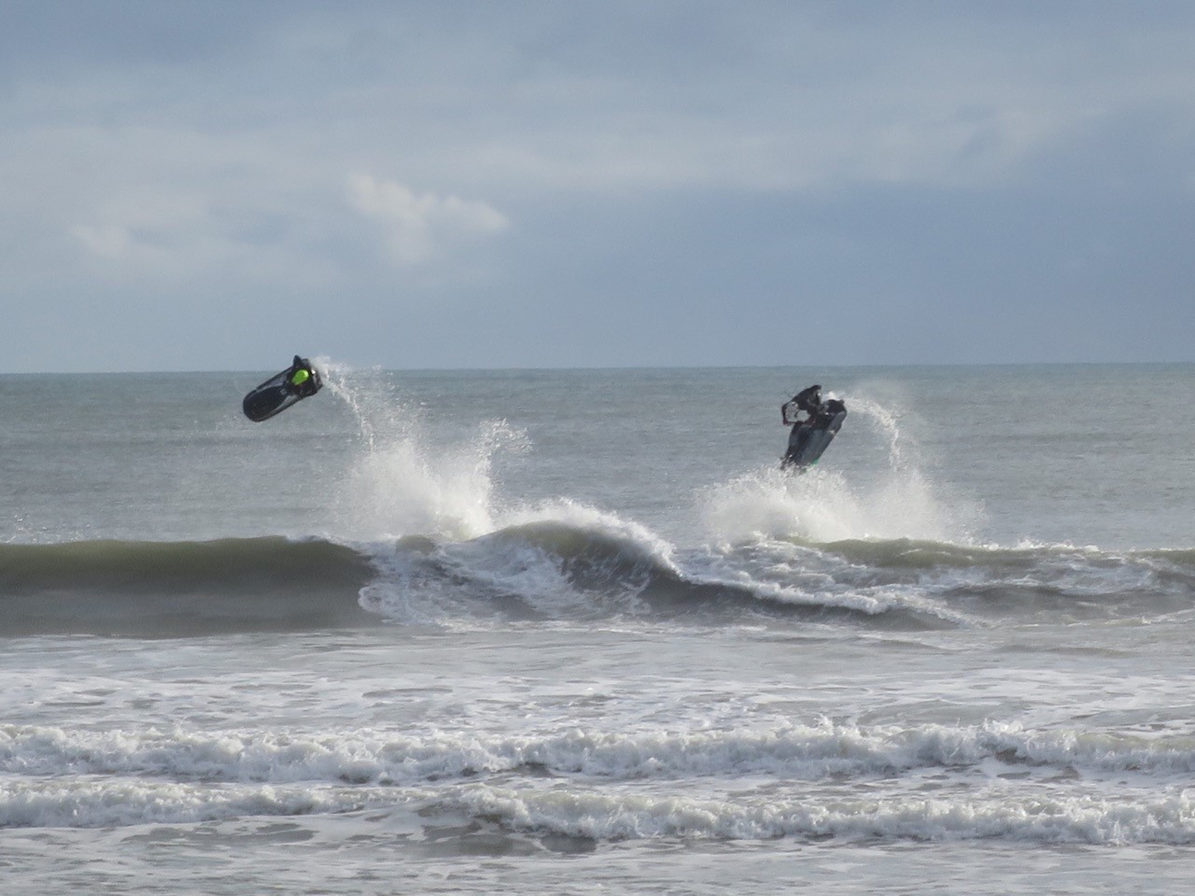 Picture of the Day: Jetskiers playing in the waves at Bournemouth