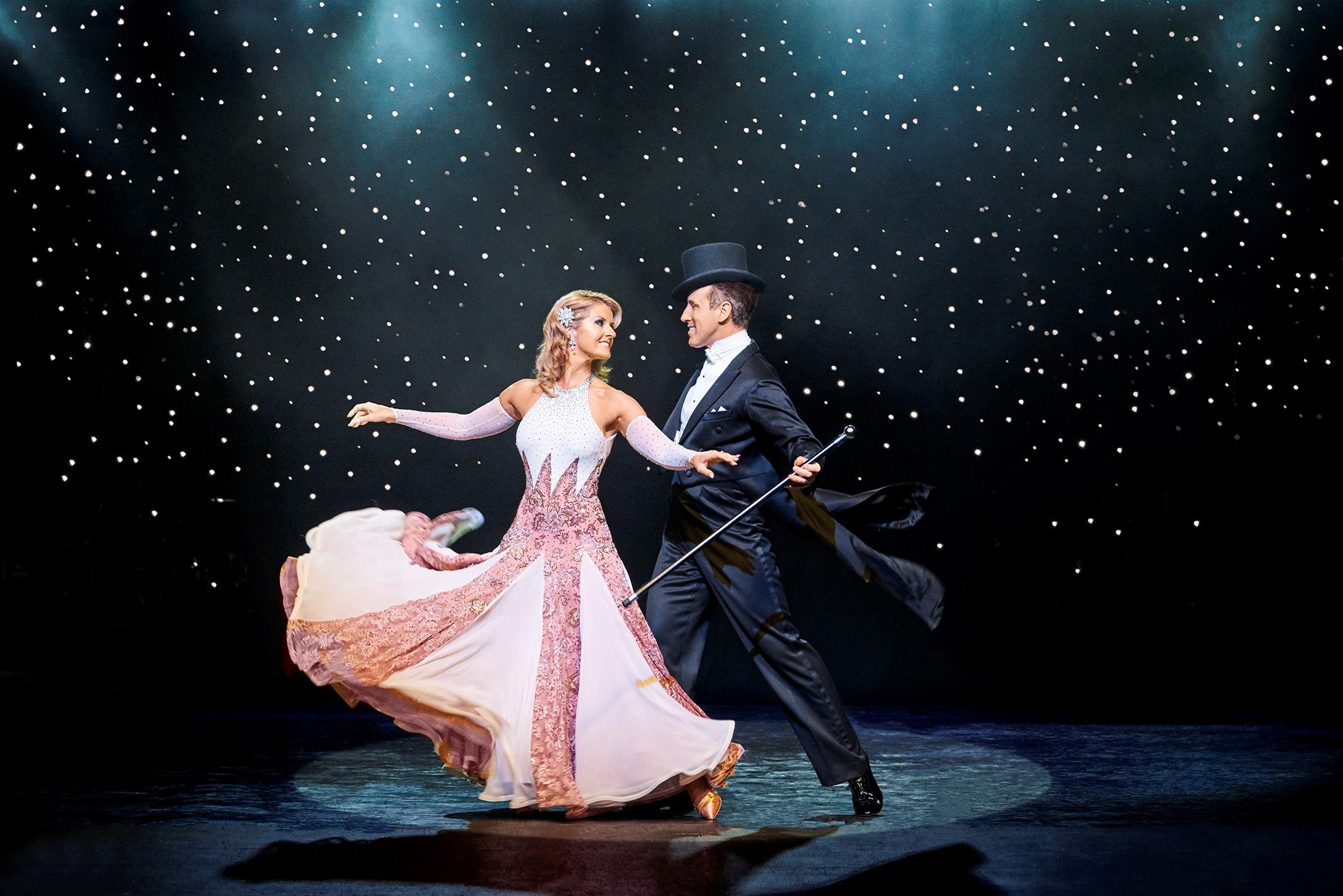 Anton du Beke and Erin Boag - Broadway to Hollywood