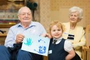 The Retired Nurses National Home (RNNH) in Bournemouth welcomed fifteen children aged four and five from St Walburgas Catholic Primary School