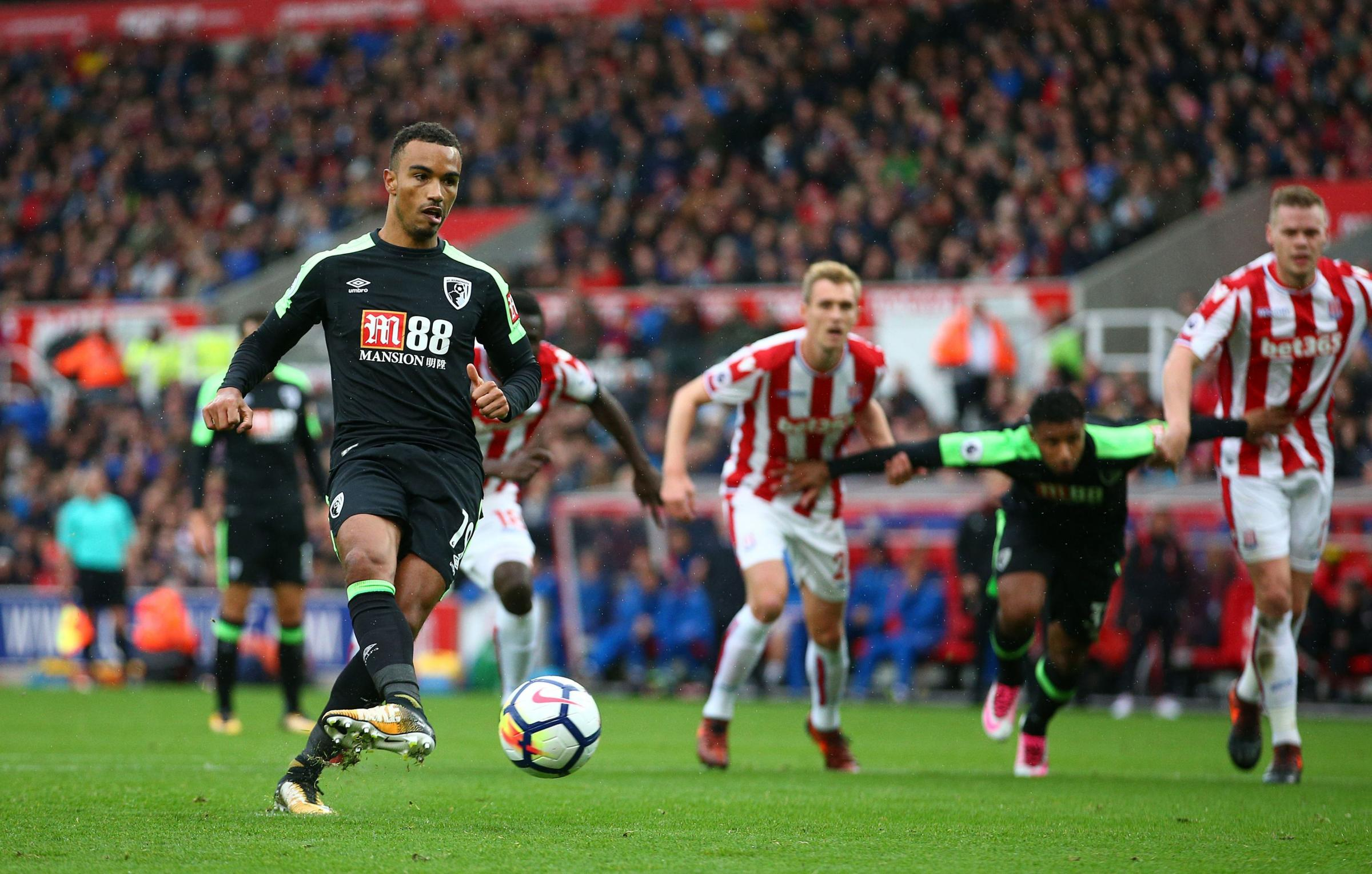 BACK IN ACTION: Junior Stanislas (Picture: Dave Thompson/PA Wire)