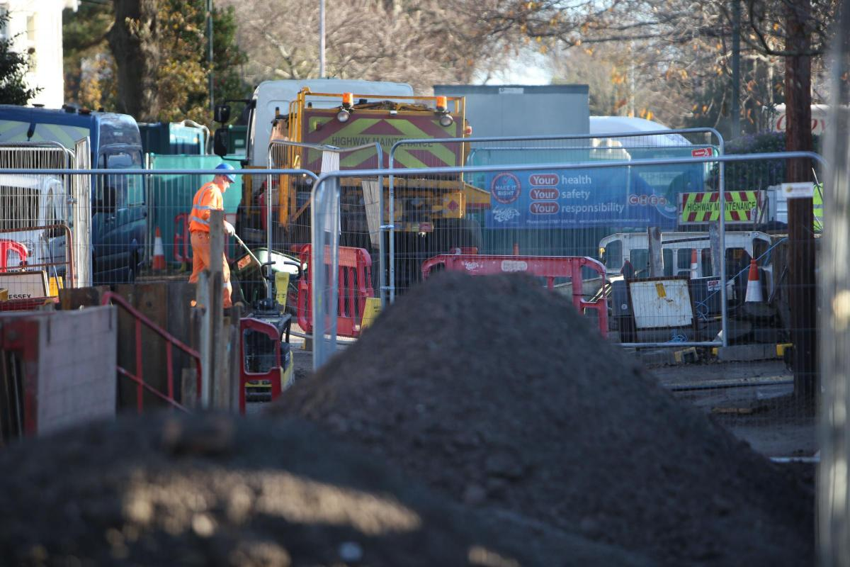 Hooray! Percy Road in Boscombe will reopen tomorrow after 18