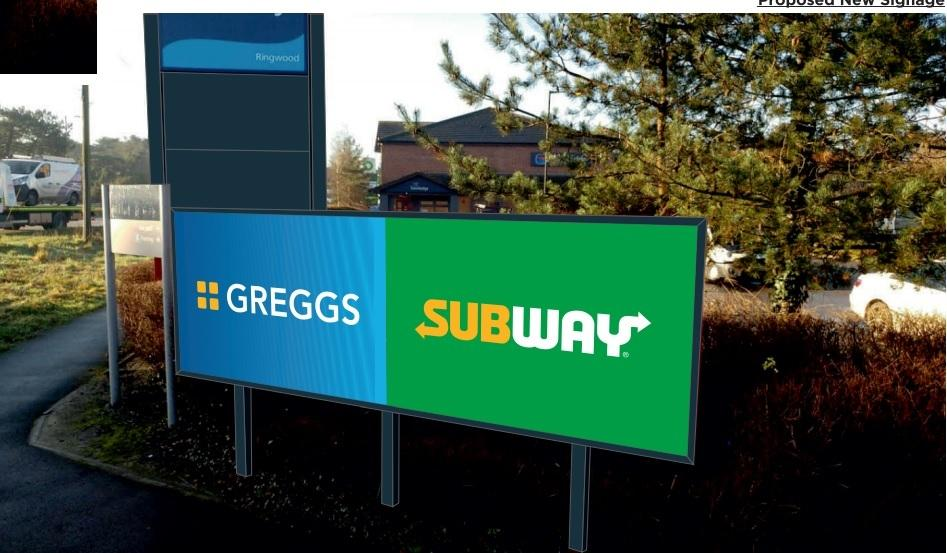 Little Chef Off A31 At St Leonards Could Be Changing To Greggs And