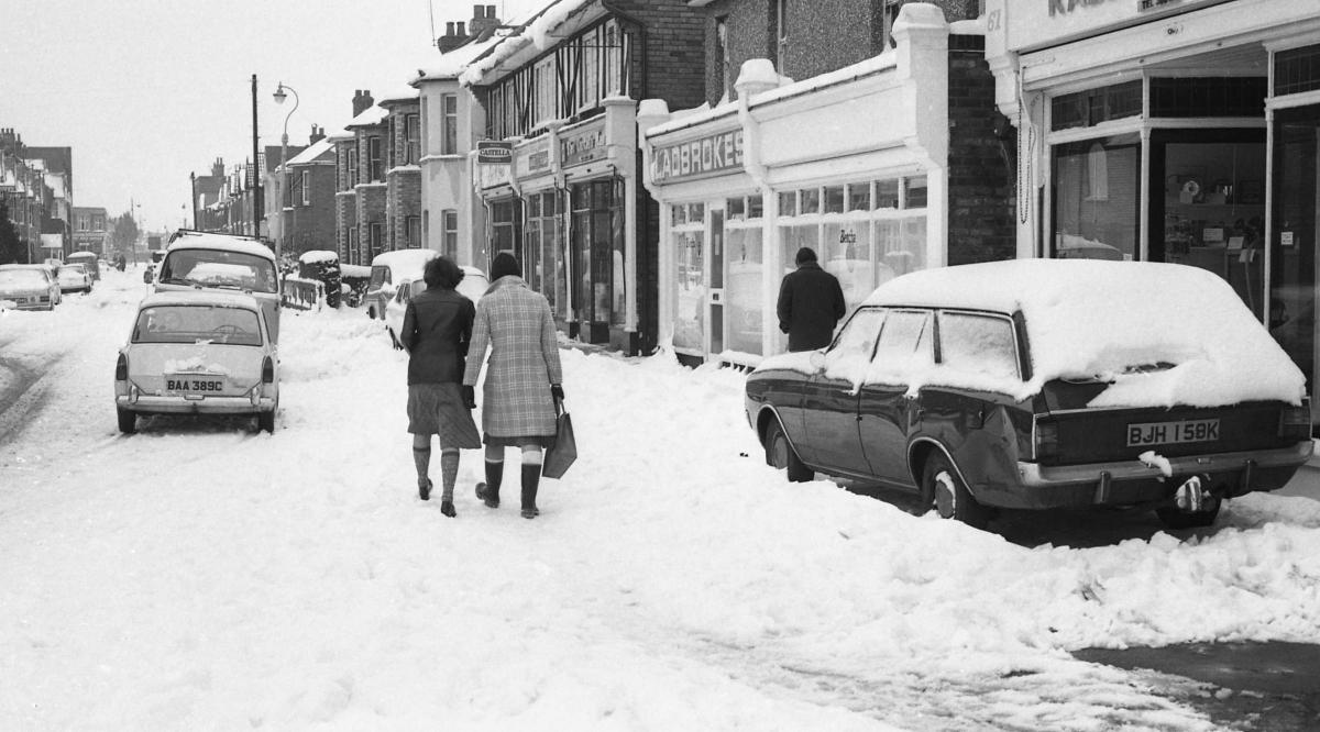remembering the big freeze of 1978 in dorset bournemouth echo