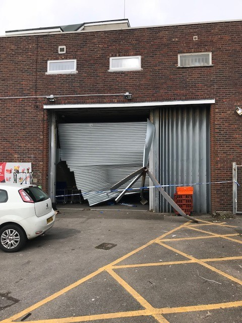 The ram-raided Co-op store in Highcliffe. Picture: Si Barnes