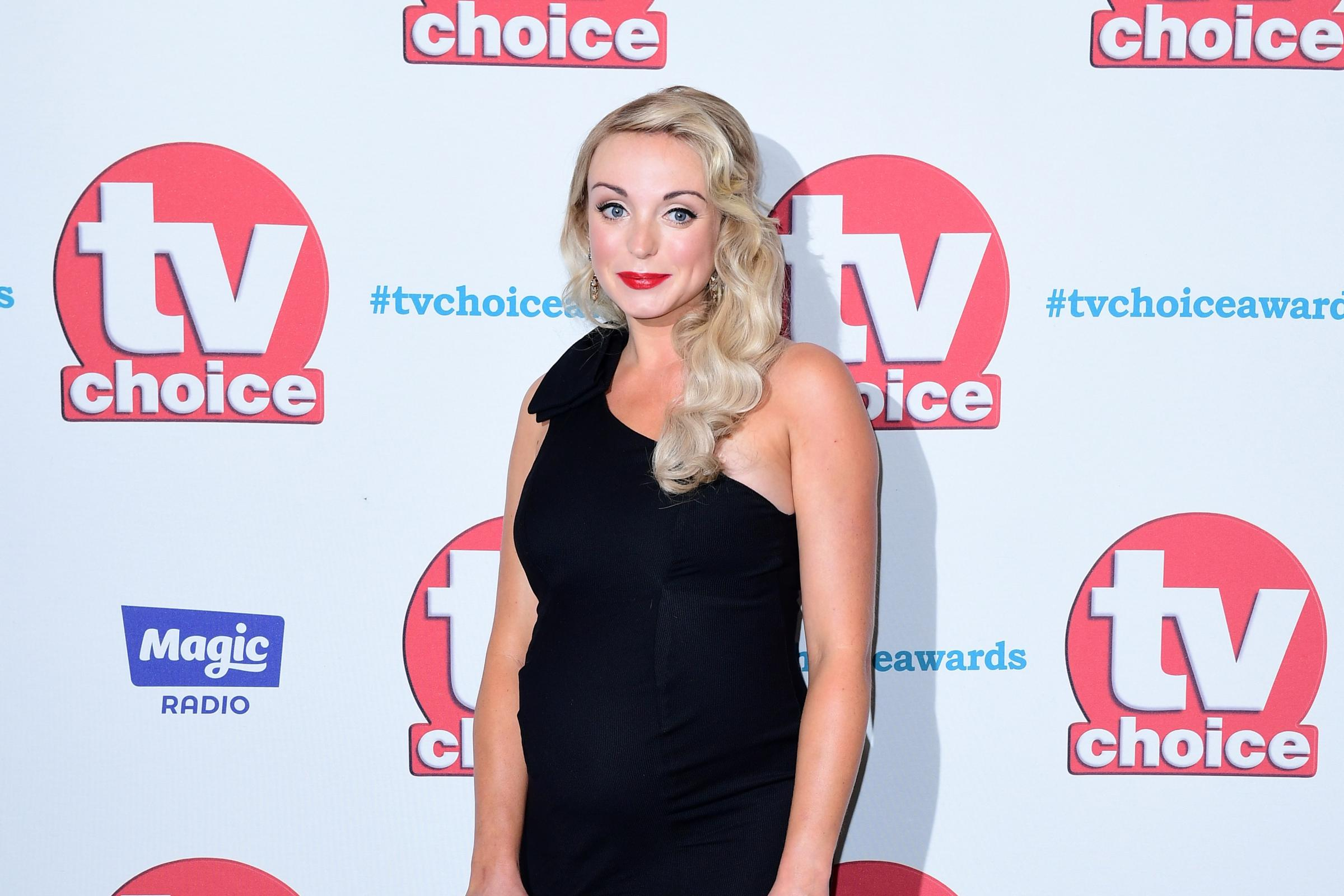 Helen George fires back over fat shaming comment (Ian West/PA)