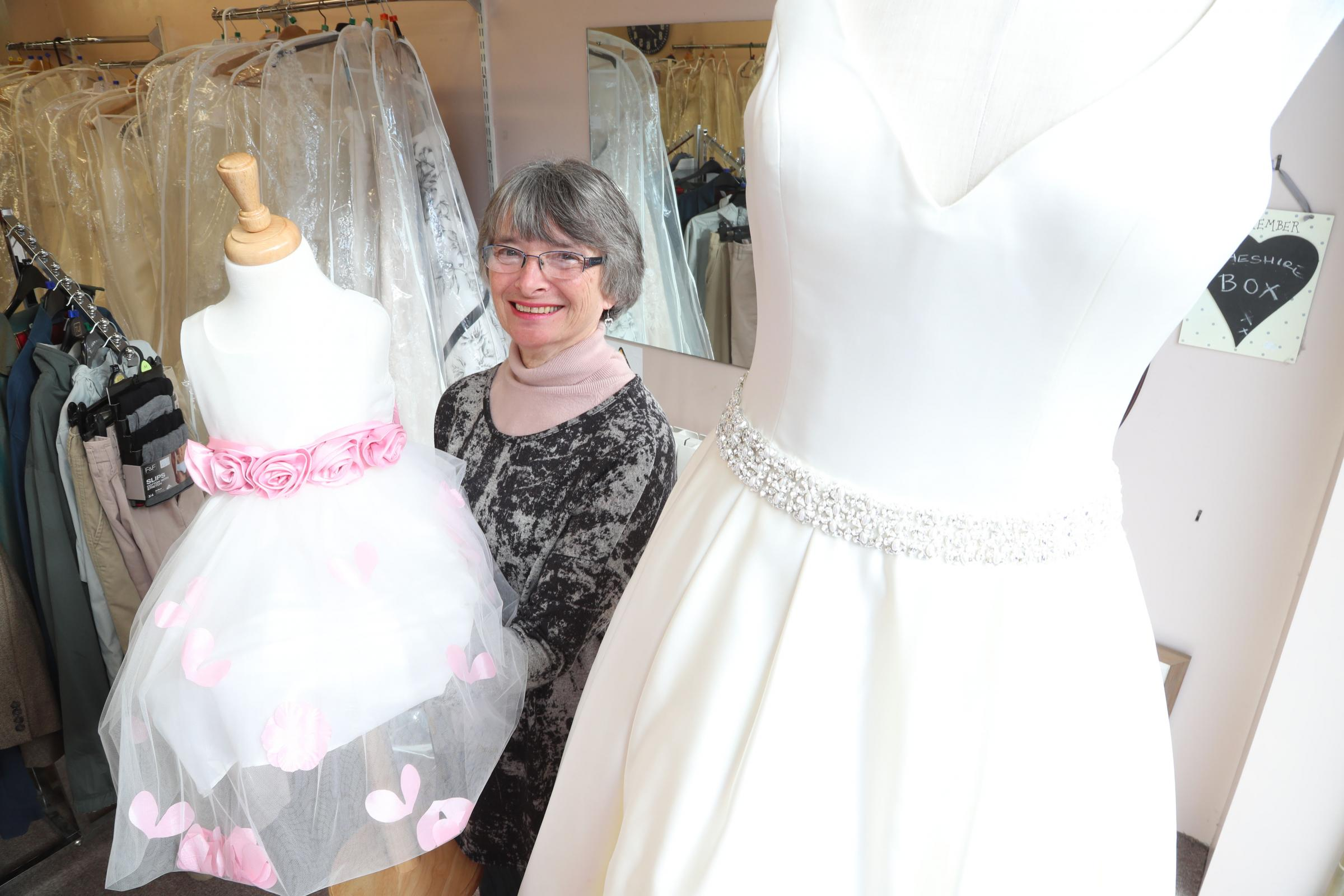 Calling all brides: this charity shop is selling new dresses (with a ...
