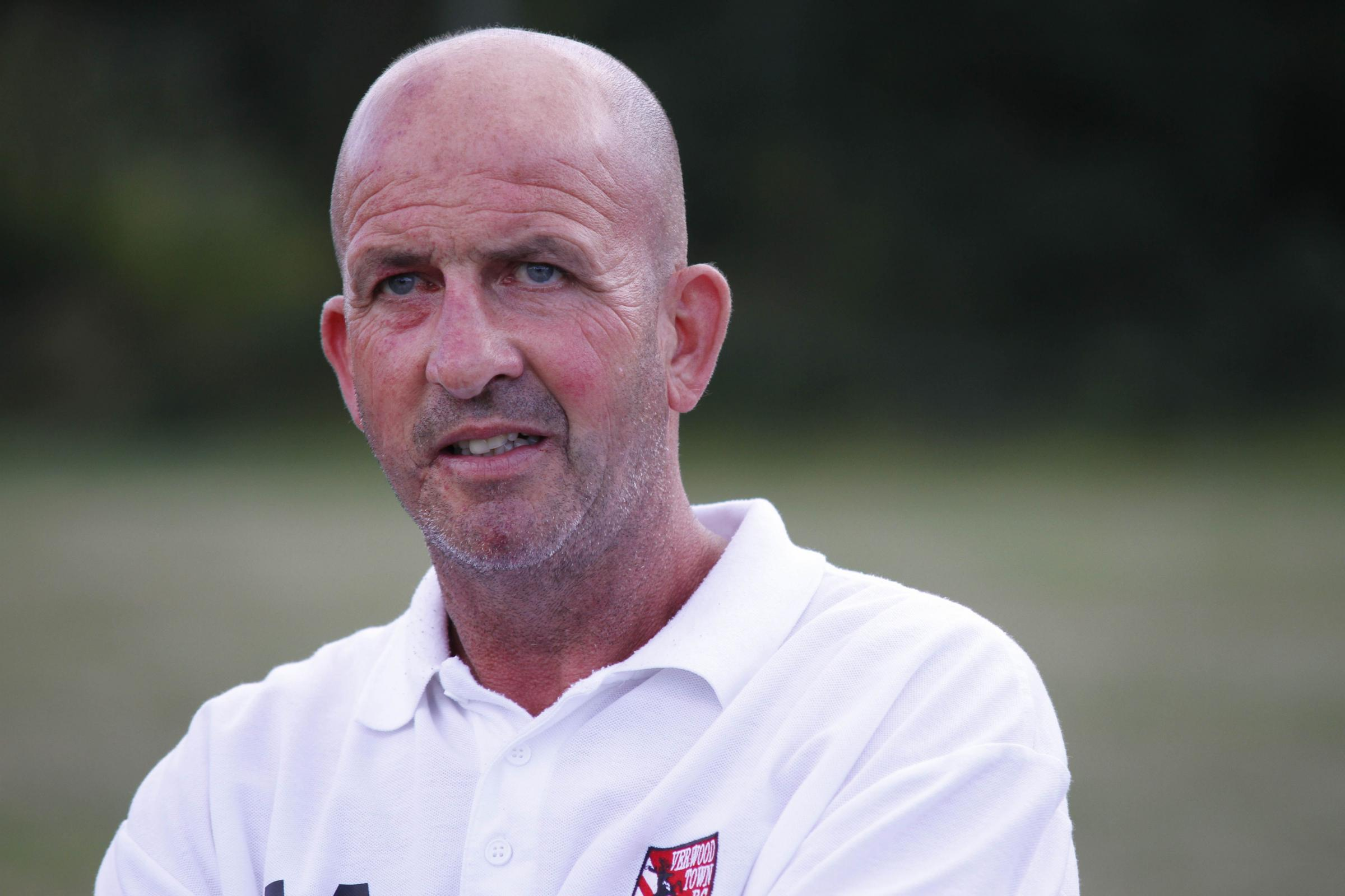 ABANDONMENT: Verwood Town boss Adie Arnold