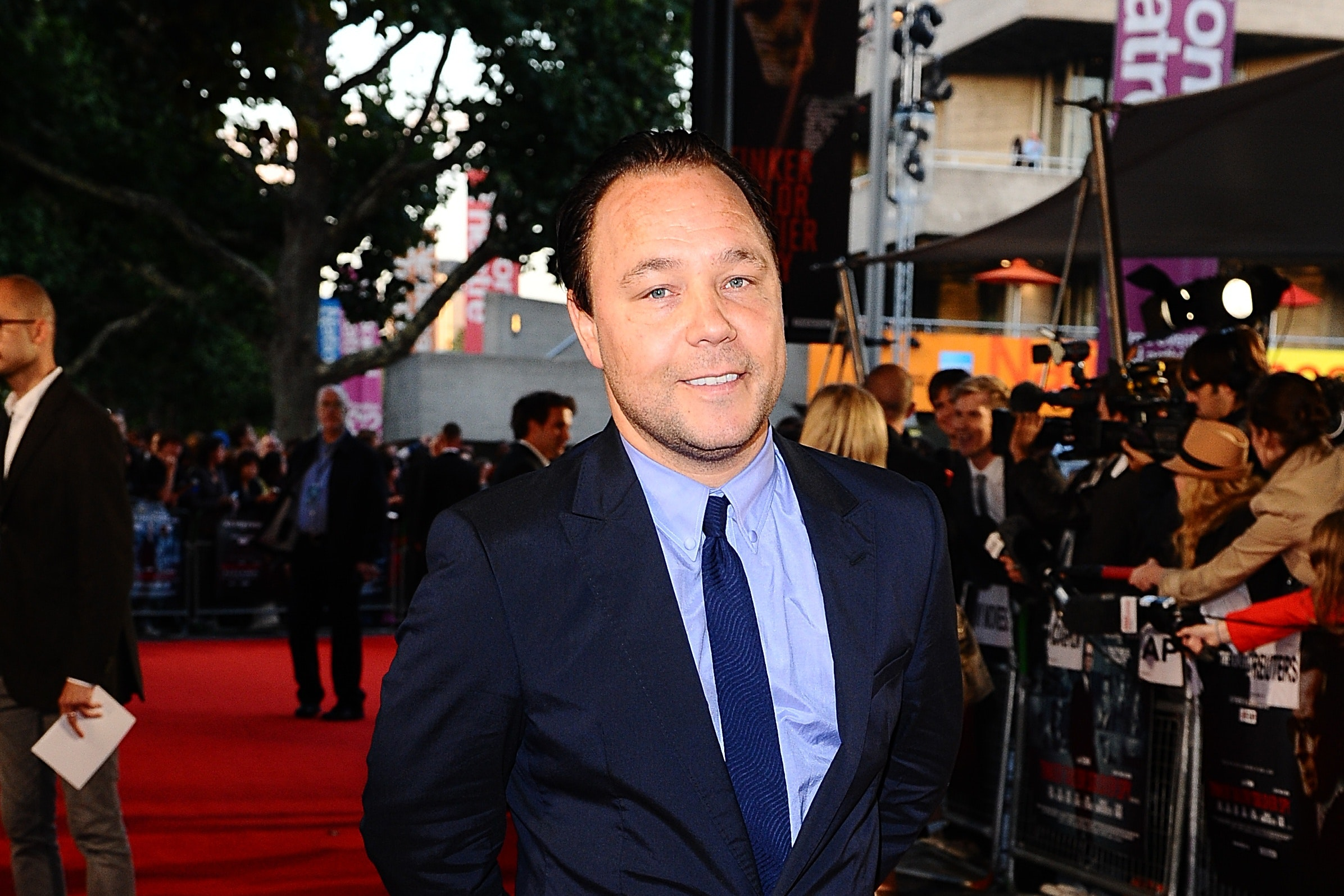Stephen Graham says he injured his ankle on the first day of Walk Like a Panther rehearsals (Ian West/PA)