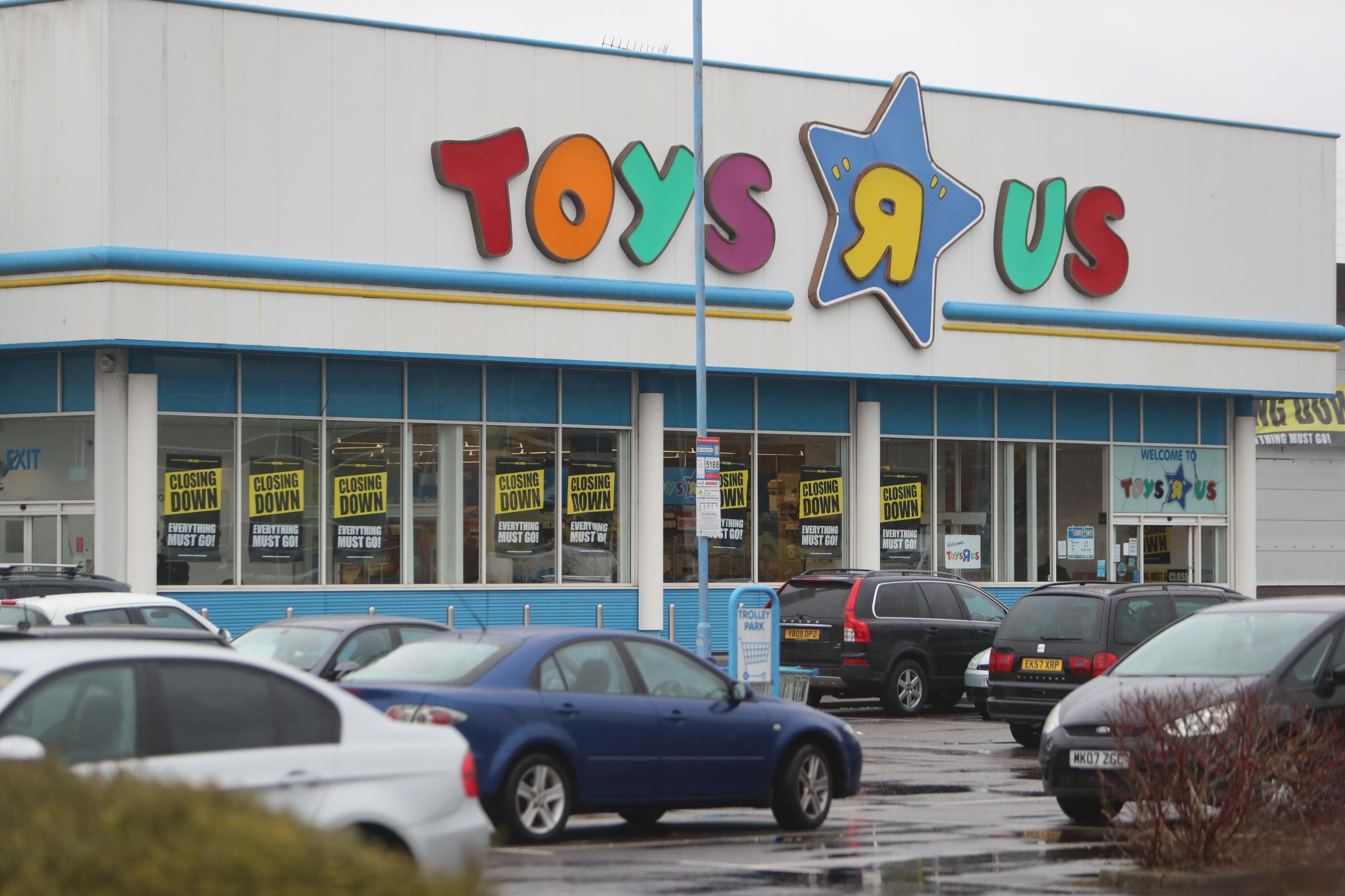 Toys R Us in Poole, which closed down