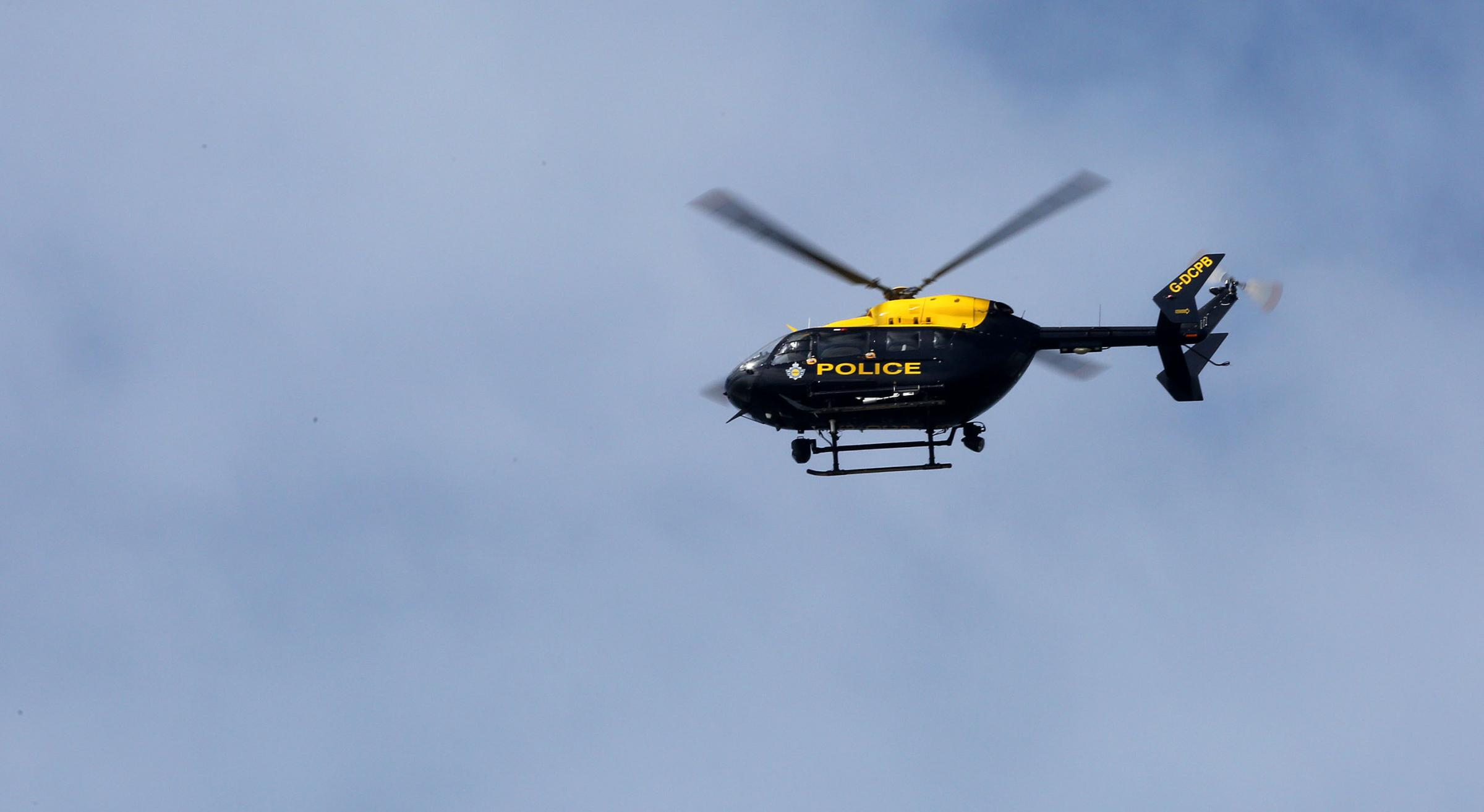 Police helicopter searches Boscombe after concern for welfare call