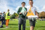 Pupils at St. James' CE Primary Academy have set a new world record for the most plastic bottle boats launched simultaneously