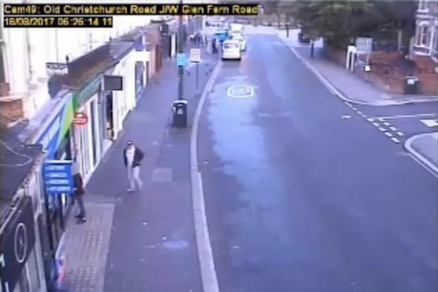 Bournemouth CCTV The Moment Knifeman Approaches Innocent Student In Street Before Slashing His Throat