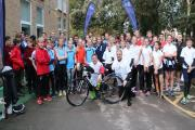 CHALLENGE: Four schools in Bournemouth and Poole teamed up for national 600-mile bike challenge RideABC.