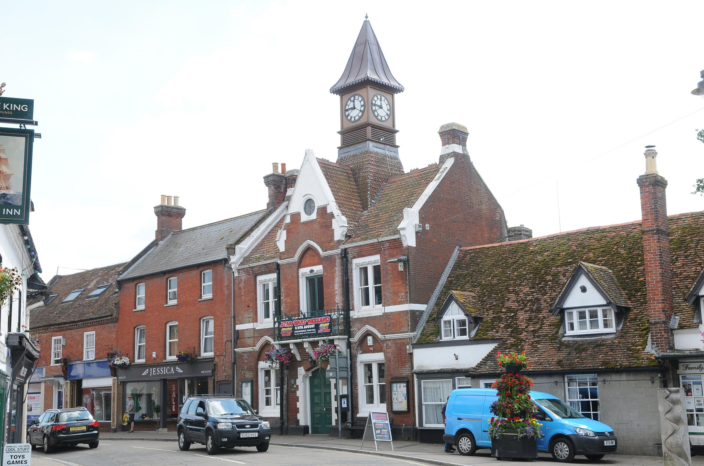 Fordingbridge town centre
