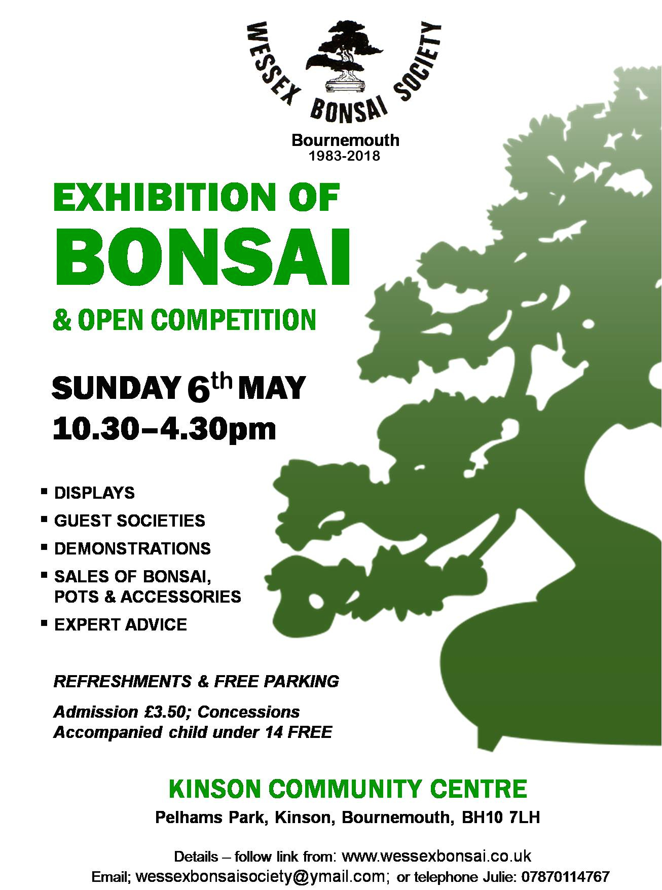 Wessex Bonsai Society Annual Show