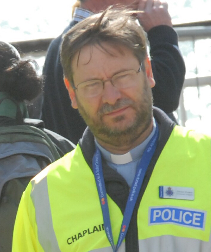 Rev Simon Evans, Dorset Police Chaplain and Ensbury Park vicar
