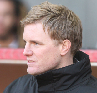 ON HIS WAY: Eddie Howe