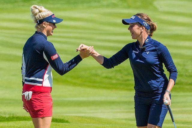 DUO: Charley Hull and Georgia Hall (Picture: Tristan Jones/LET)