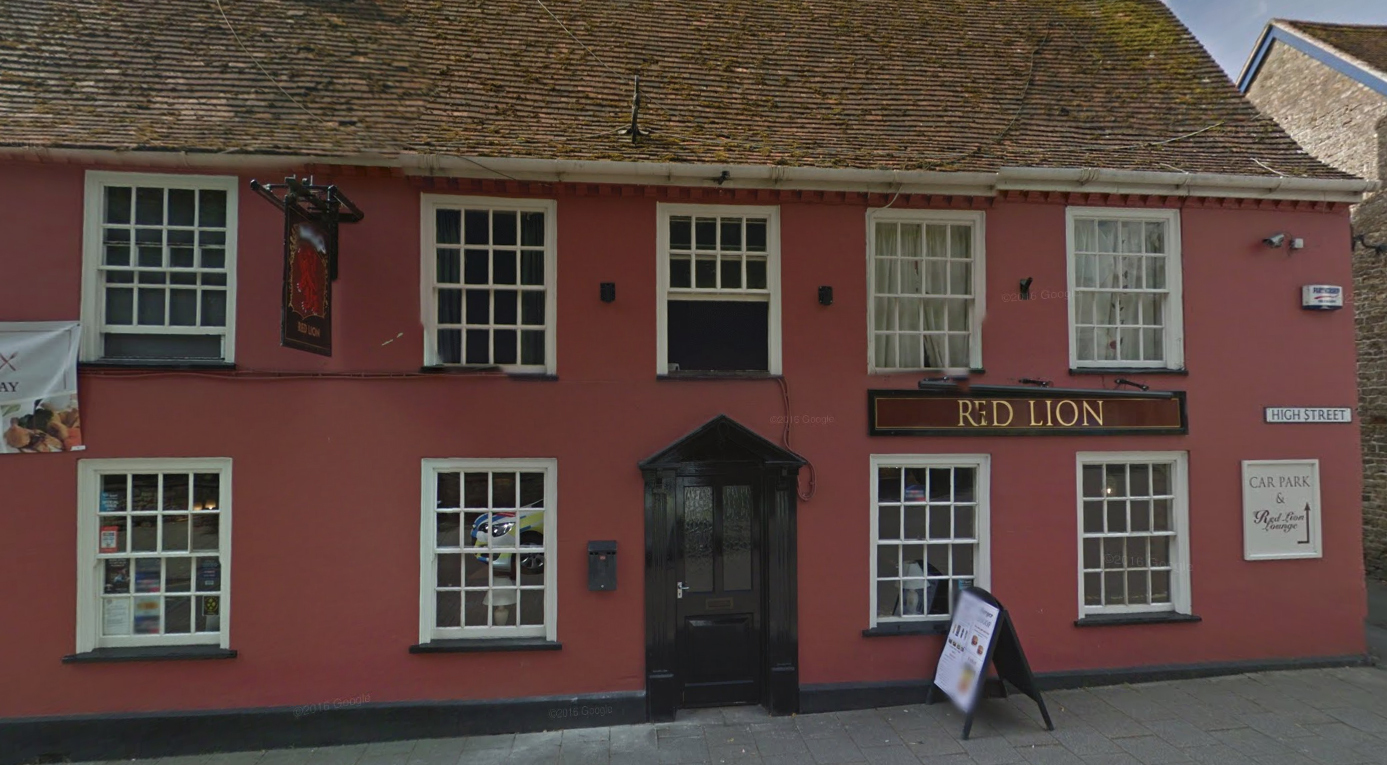 The Red Lion pub in Gillingham. Picture via Google Street View