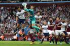 Middlesbrough could not find a way past Aston Villa goalkeeper Sam Johnstone (Martin Rickett/PA)