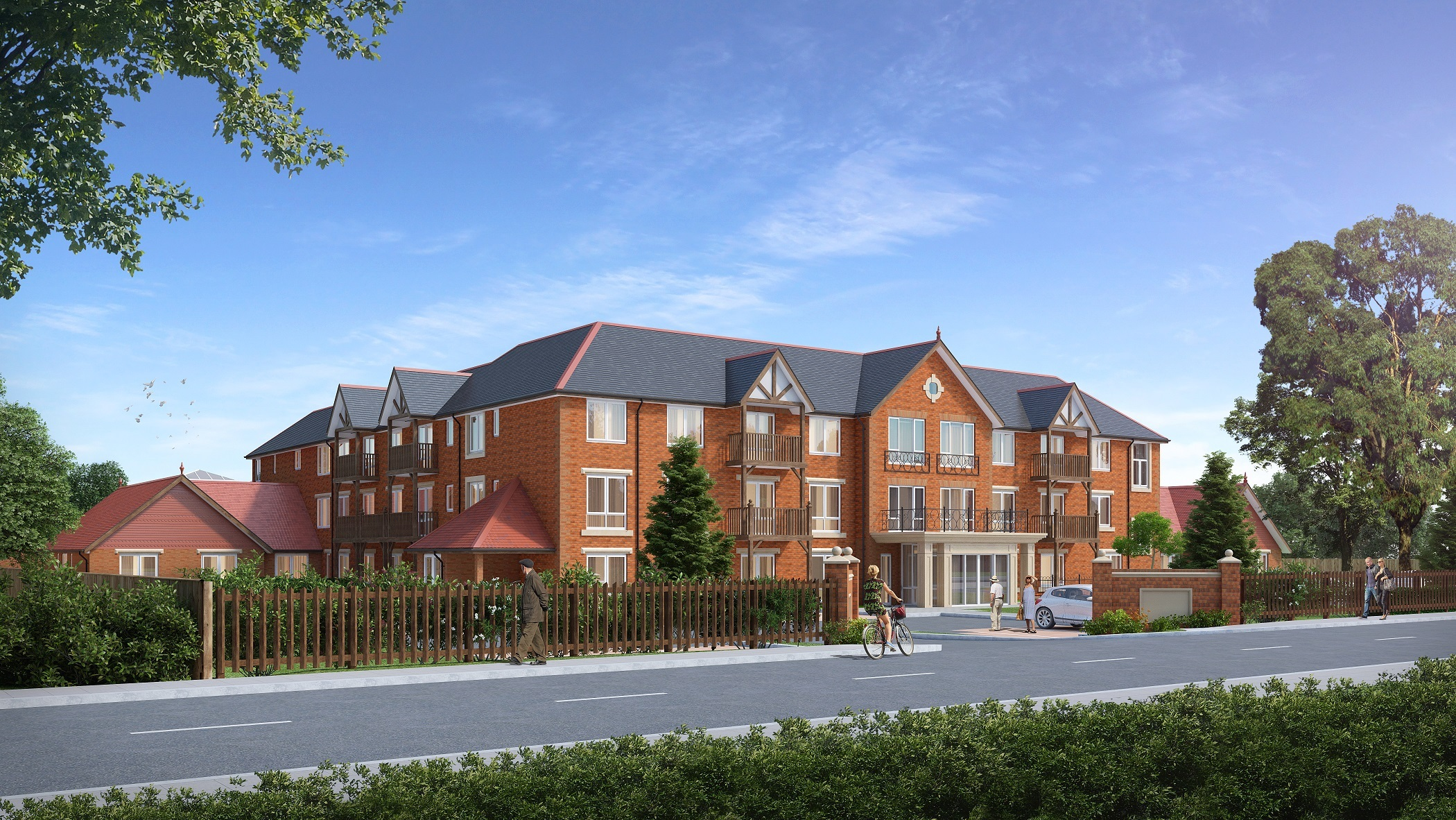 CARE HOME: A CGI picture of the proposed facility