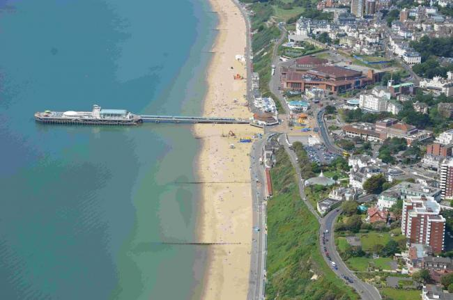 CHANGES: Bournemouth seafront plans revealed. Photo: Bliss Aviation