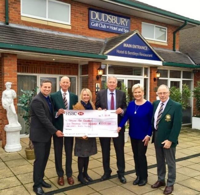 National honour and large charity donation for Dudsbury Golf