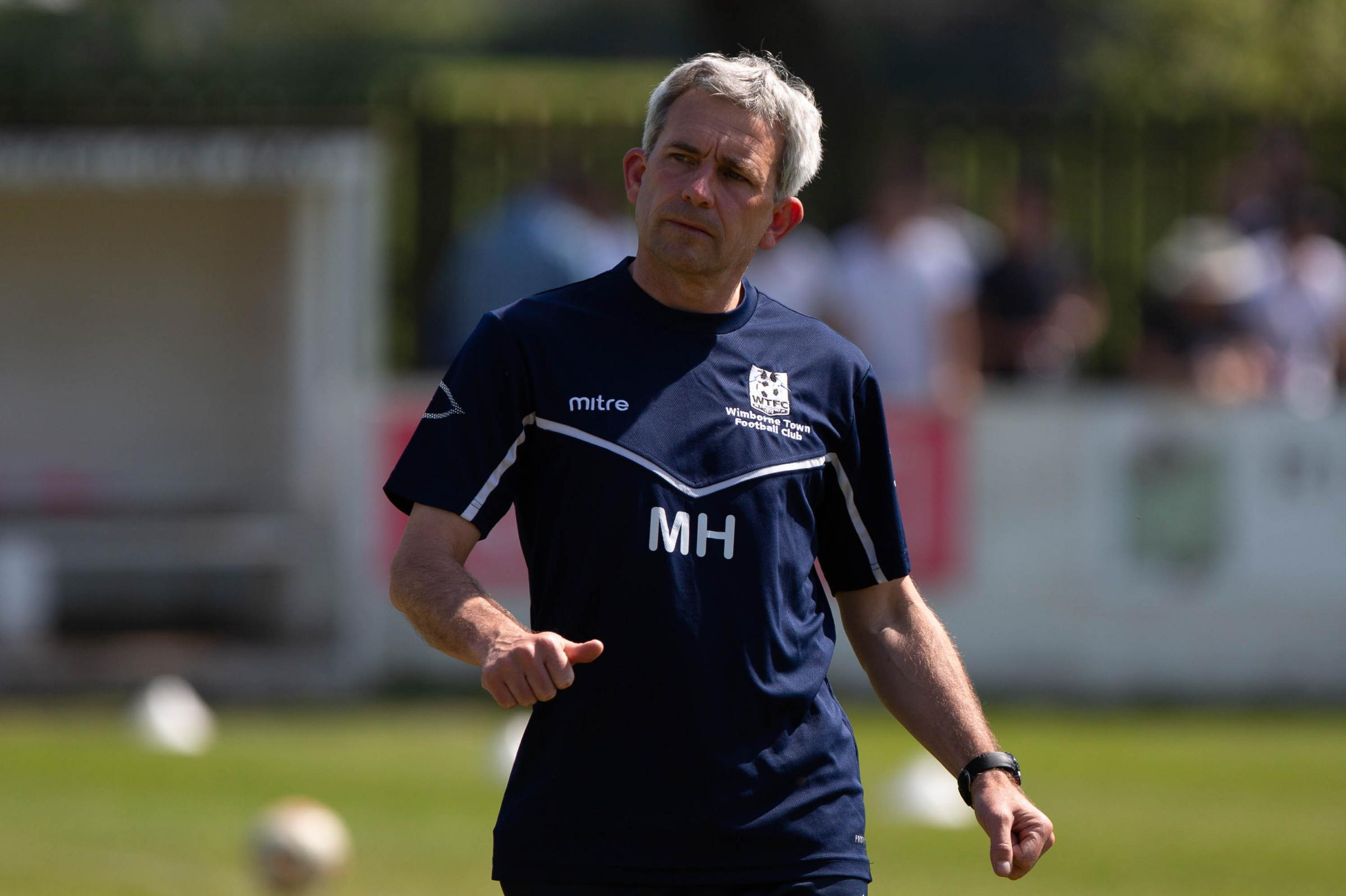 LOOKING TO RECRUIT: Wimborne Town manager Matty Holmes (Picture: Simon Carlton)