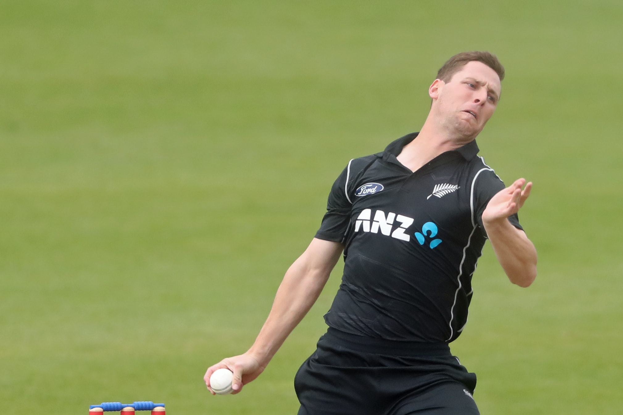 New Zealander Matt Henry produced an excellent final over to inflict a first defeat on Hampshire (Niall Carson/PA)