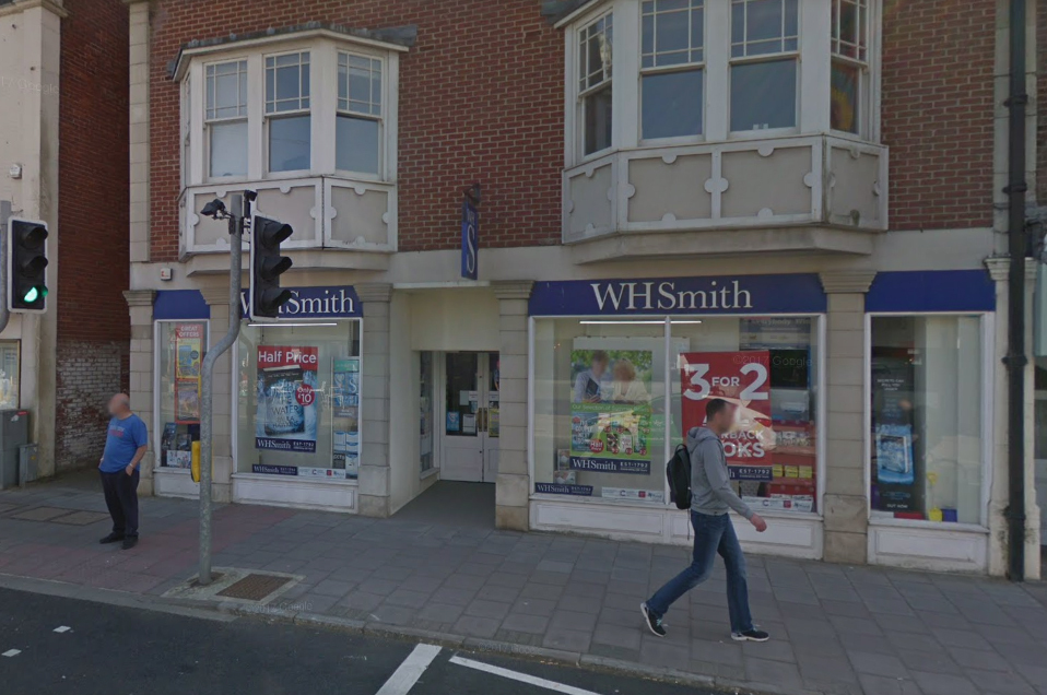 The WHSmith store in Swanage. Picture: Google Street View.