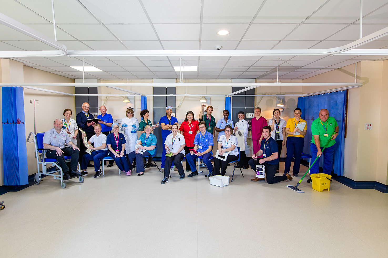 Staff from the Royal Bournemouth and Christchurch Hospitals Trust