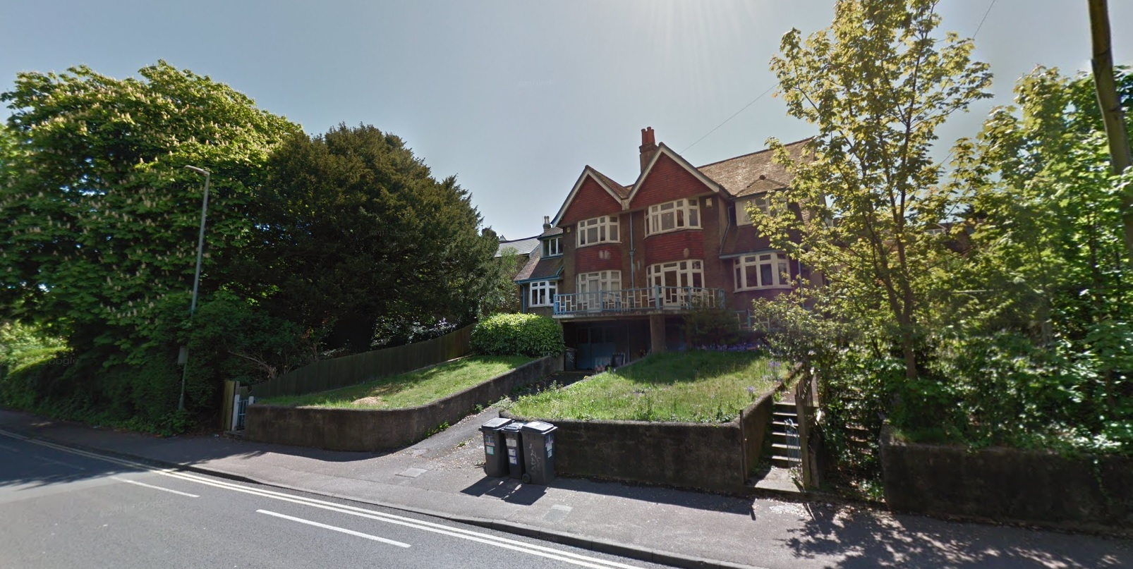 The properties in Christchurch Road, Bournemouth. Picture, Google Maps