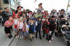 Pirates young and old take over Poole Quay for the annual Harry Paye Day parade. Old Town School