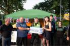 The event in aid of David Pilbro raised £1,650, photo by Tim Carey