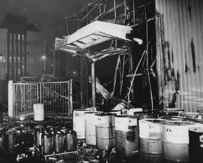 The BDH fire in Poole, 1988 | Bournemouth Echo