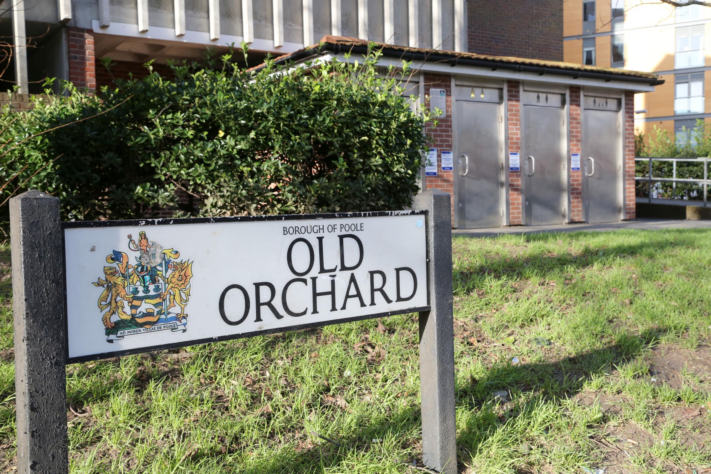 Old Orchard in Poole Quay
